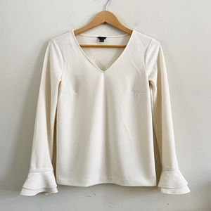 Ann Taylor blouse with bell sleeves!